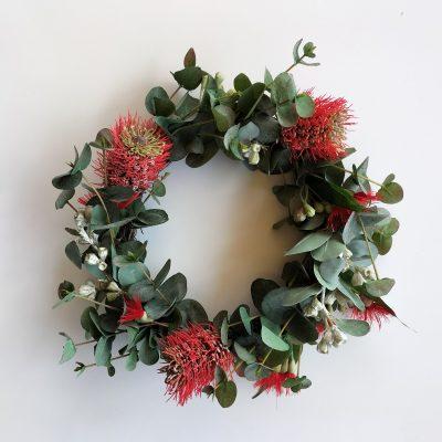 Christmas-artificial-native-wreath